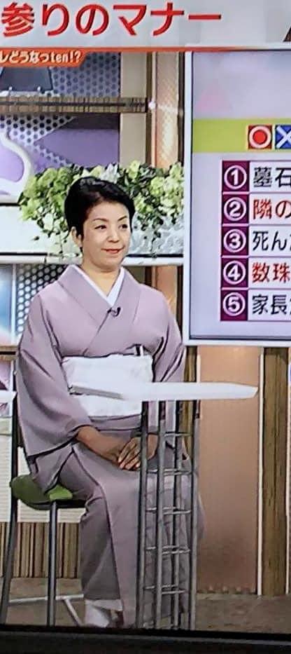 8月13日(月)読売テレビ「かんさい情報ネットten」 お盆のマナーをテーマに寒川由美子会長が出演!