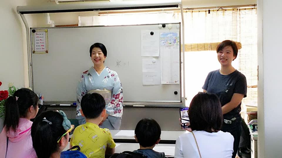 8月14日大阪本部教室にて訪日観光客 親子マナー教室開催!