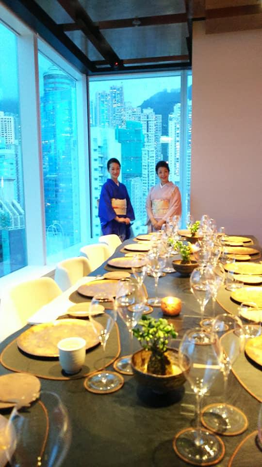 8月30日香港でのマナーレッスン提携先graciousオープニングパーティ開催!